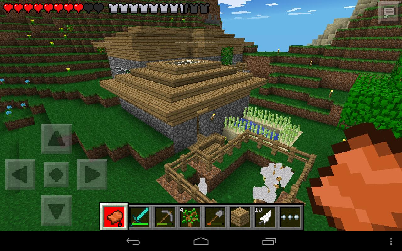 Скачать minecraft pocket android